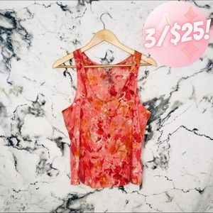 💖3/$25💖 I Love H81 Tie Dye Abstract Tank Top
